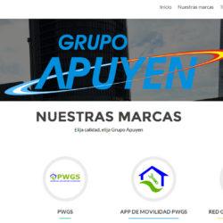 Nueva página web de Grupo Apuyen