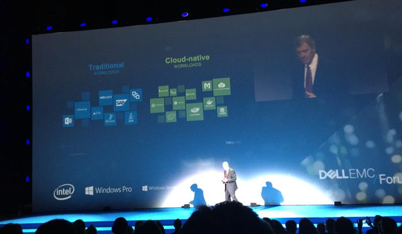 Dell EMC Forum 2016: Tradición vs cloud nativa