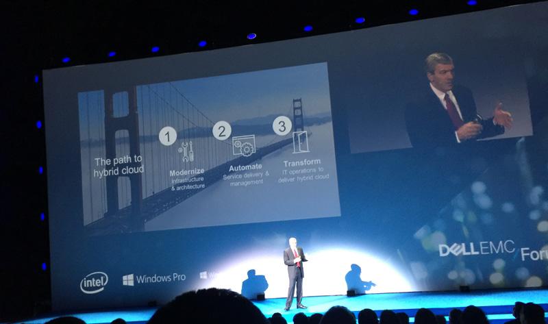 Dell EMC keynote por Kevin Roche