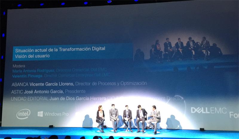 Dell EMC ponencia sobre transformación digital