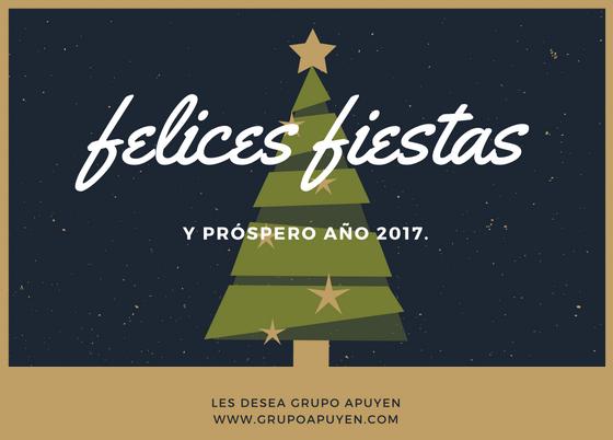 Grupo Apuyen les desea Felices Fiestas