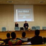 Pilar Bosch y Diego González ofrecen tiempo para preguntas (UJI)