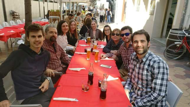 Comida Evento Fallas - Grupo Apuyen
